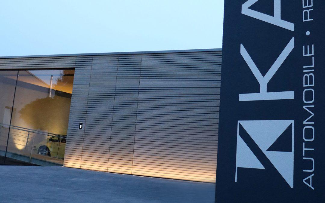 Neubau und Erweiterung Firmengebäude